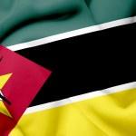 Mozambique waving flag — Stock Photo #26500953