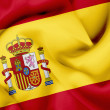 Spain waving flag — Stock Photo