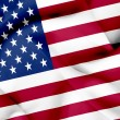 United States of America waving flag — Stock Photo #26501705
