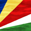 Painted flag of Seychelles — Stock Photo #26730791