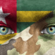 Soldier from Togo — Stock Photo #27228401
