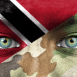 Soldier from Trinidad and Tobago — Stock Photo #27228441