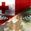 Soldier from Tonga — Stock Photo #27228477