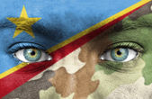 Soldier from Democratic Republic of Congo — Stock Photo