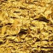 Wrinkled golden foil background — Stock Photo #28427493
