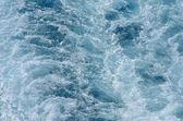 Blue ocean water texture — Foto Stock