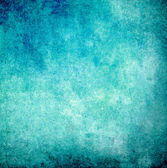 Cyan grunge paint wall background or texture — Stock Photo
