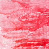Red canvas texture background — Stock Photo
