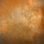 橙色 grunge 背景或纹理 — 图库照片