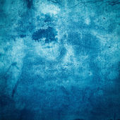 Blue grunge background or texture — Stock Photo