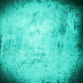 Cyan grunge background or texture — Stock Photo