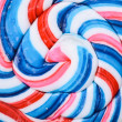 Stock Photo: Lollipop macro shot