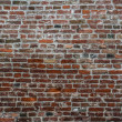 Perfect grunge brick wall background — Stock Photo