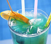 Macro shot of colorful coctail — Foto Stock