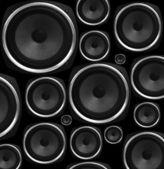 Lautsprecher-abstrakt — Stockfoto