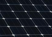 Solar panel texture — Stock Photo