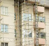 Renovation of building — Stock Photo