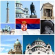 Serbia collage — Stock Photo #38287165