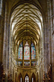 Cathedral of St Vitus in the Prague castle — Stock Photo