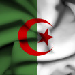 Stock Photo: Algeriwaving flag