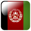 Glossy icon with flag of Afghanistan — Stock Photo #39834009