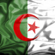 Algeria waving flag — Stock Photo #39839251