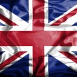Great Britain waving flag — Stock Photo #39842437