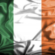 Ireland waving flag — Stock Photo #39843381