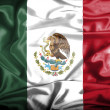 Stock Photo: Mexico waving flag