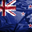 New Zealand waving flag — Stock Photo #39846083