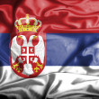 Serbia waving flag — Stock Photo #39846877