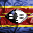 Swaziland waving flag — Stock Photo #39847885
