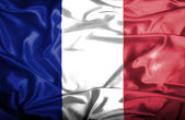 France waving flag — Stock Photo