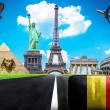 Stock Photo: Travel the world conceptual image - Visit Belgium