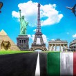 Travel the world conceptual image - Visit Italy — Stock Photo #41065195