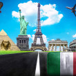 Stock Photo: Travel the world conceptual image - Visit Italy