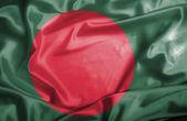 Bangladesh waving flag — Stock Photo