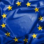 Waving European Union flag — Stock Photo #44233737