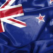 New Zealand waving flag — Stock Photo #44238067