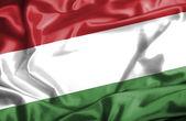 Hungary waving flag — Stock Photo