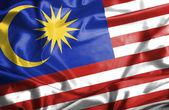Malaysia waving flag — Stock Photo