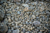 Background of volcanic stones on Volcano — Stock Photo