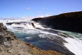 Islândia de cachoeira Gullfoss — Fotografia Stock