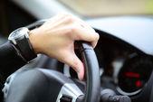 Man driving car concept — Foto Stock