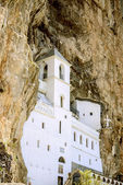 Ostrog monastery in Montenegro — Stock Photo
