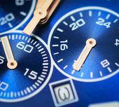 Macro of luxury watch — Stock Photo
