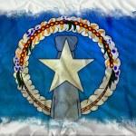 Northern Marianas grunge flag — Stock Photo #8975348