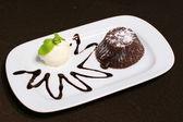Sacher cake — Stock Photo