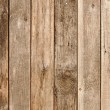 Close up of gray wooden fence panels — Stock Photo #12453857