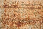 Kovové zkorodované textura — Stock fotografie